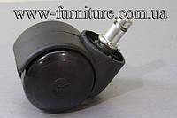 Ролик 413 для офисных кресел,пластик,D=50мм,h=62 мм(до 35 кг)