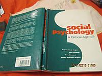 SOCIAL PSYCHOLOGY книга АНГЛИЙСКИЙ ЯЗЫК БРИТАНИЯ