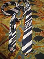 F&F галстук мужской неширокий отличный стильно