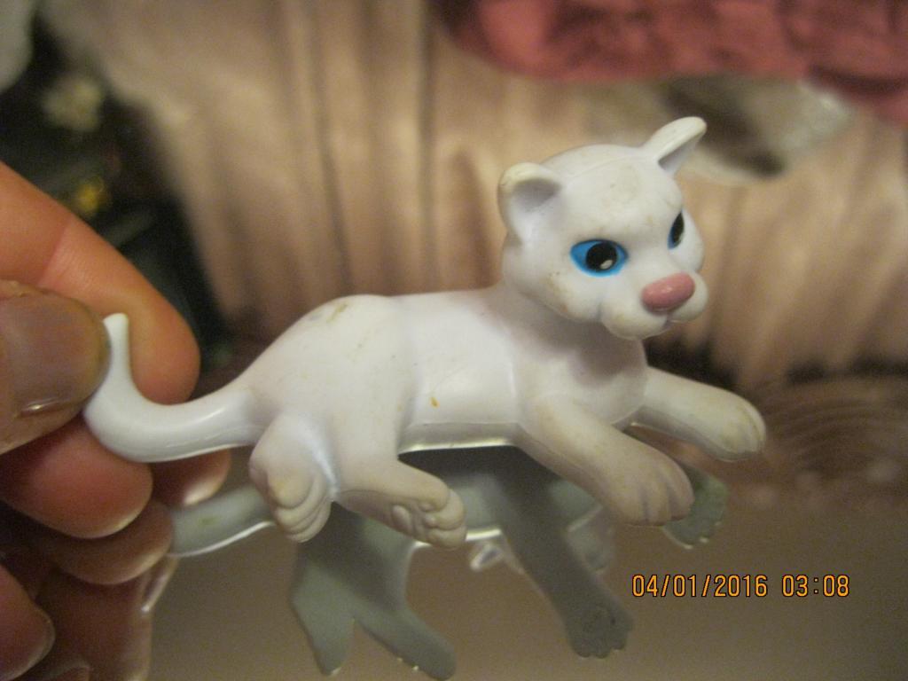 Фигурка кот игрушка 2002г сувенир статуэтка кошка