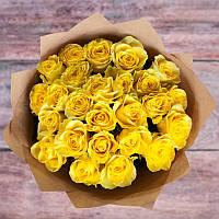 Букет из желтых роз (цена за 21розу)