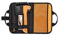 Туристический набор Fiskars 1025441 (топор Х5 121123 + нож поплавок 125860, точилка 120740), фото 1