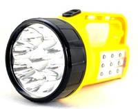 Купить Фонарик 9 led с аккумулятором 220В