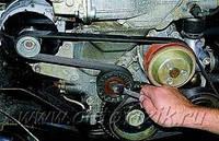 Замена сервисного ремня и ролика ДВ - 406, фото 1