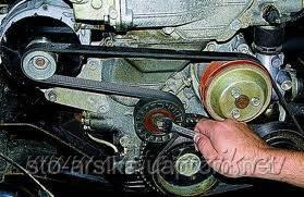 Замена сервисного ремня и ролика ДВ - 406