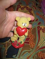 Фигурка статуэтка сувенир фигурка мишка медведь ЛЮБОВЬ сердце