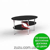 """Стол журнальный стеклянный """"Хела-1 люкс"""". Разные раскраски"""