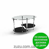 """Стол журнальный стеклянный """"Хела-1"""". Разные раскраски"""
