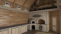 Облицовка печей,каминов,фасадов(архитектурными керамическими элементами)