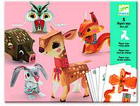 DJECO Художественный комплект оригами Лесные животные