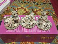 Статуэтка фигурка медведь сувенир лот=3 изБРИТАНИИ