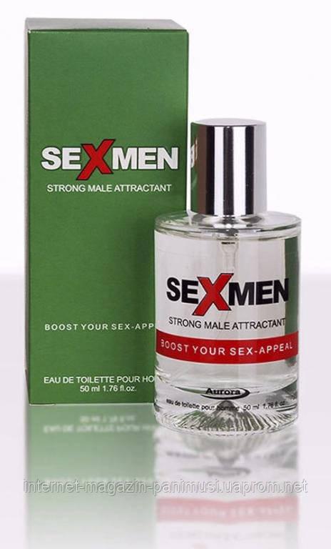Феромоны для мужчин соблазняют женщин Sexmen 50мл