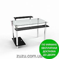 """Стол компьютерный стеклянный """"Фобос"""". Разные раскраски"""