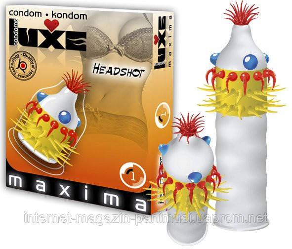 Французкие презервативы Condoms Luxe Headshot