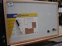Доска магнитная сухостираемая 40*60 см в деревянной раме TOP BOARD