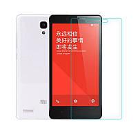 Защитное Стекло на Xiaomi Redmi 1S Тонкое 0.26 мм гладкие стороны и углы 2.5D