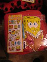 Наклейки губка БОБ СПАНЧ БОБ Sponge Bob 2вида=лот