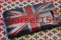 Чехол-книжка на LG G2 mini рис.03 флаг GB