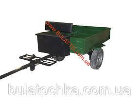 Прицеп для мотоблока (1,3 х 1,75 м) под жигулевские ступицы (без покрышек и колес), фото 2