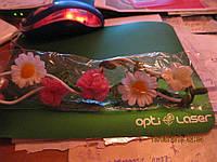 Нарядная повязка обруч резинка на голову цветы разные