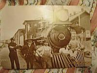 Открытка карточка поезд не знаю может  старая из БРИТАНИИ