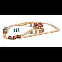 Деревянный набор Железная дорога Melissa&Doug MD704