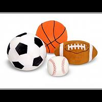 Набор спортивных плюшевых мячиков Melissa&Doug MD2179