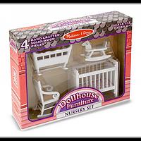 Мебель для детской комнаты Melissa&Doug MD2585 Nursery Furniture