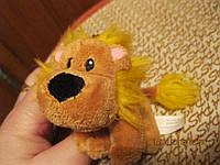 Брелок сувенир мягкая игрушка карабин лев львенок фирменный
