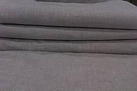 Простыня  для сауны 100% лен оршанский серый