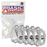 НАСАДКА НА ПЕНИС Basic Essentials Pearl Ring Large