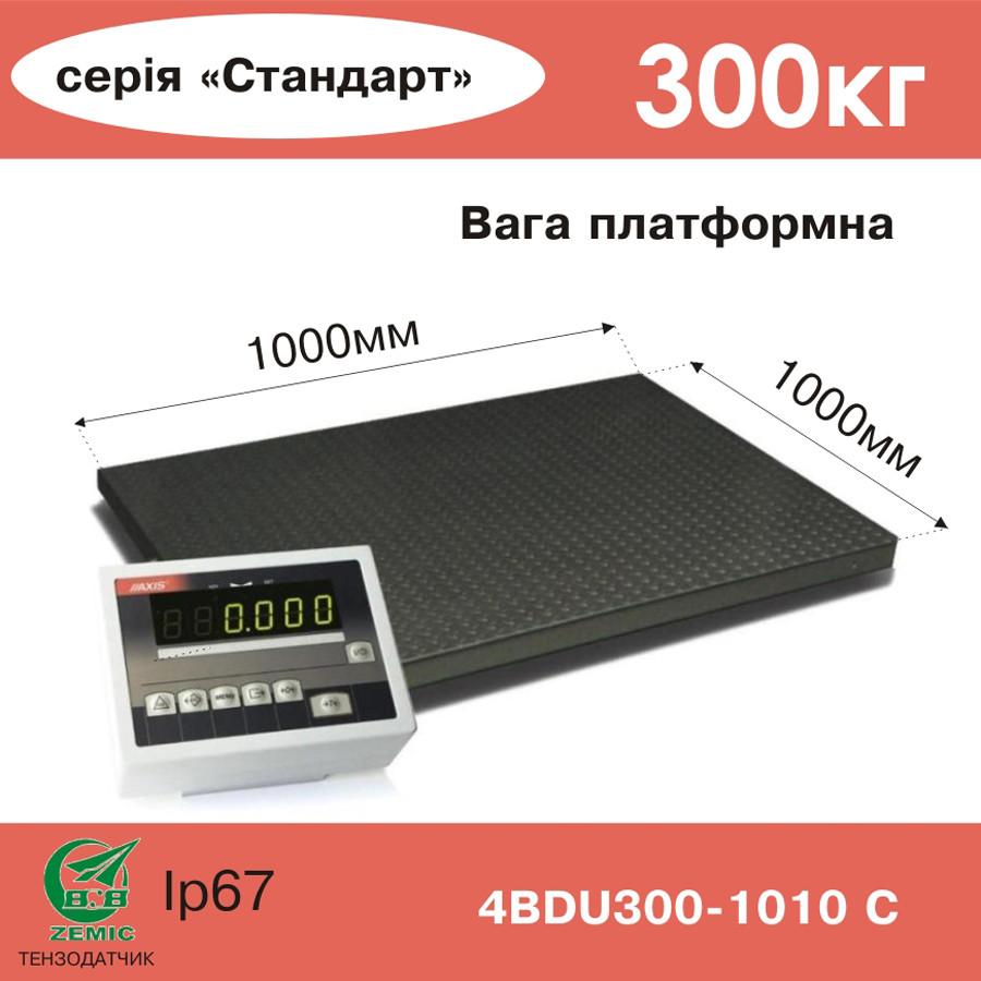Весы платформенные электронные 4BDU300-1010-С - Компания УкрВесы [Ukrvesi] в Днепре