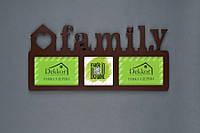 "Фоторамка   Galeria/3 ""Family"" Br"