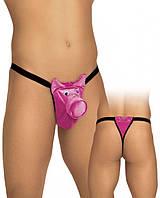 Стринги мужские Розвовая свинка Pig string O-S/pi