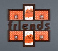 "Фоторамка   10x15/6 ""Friends"" Br"