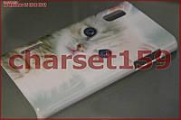 Чехол бампер LG Optimus L5 E610 E612 (кот 49)