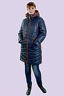 Легкий зимний пуховик большого размера 48-58, фото 1