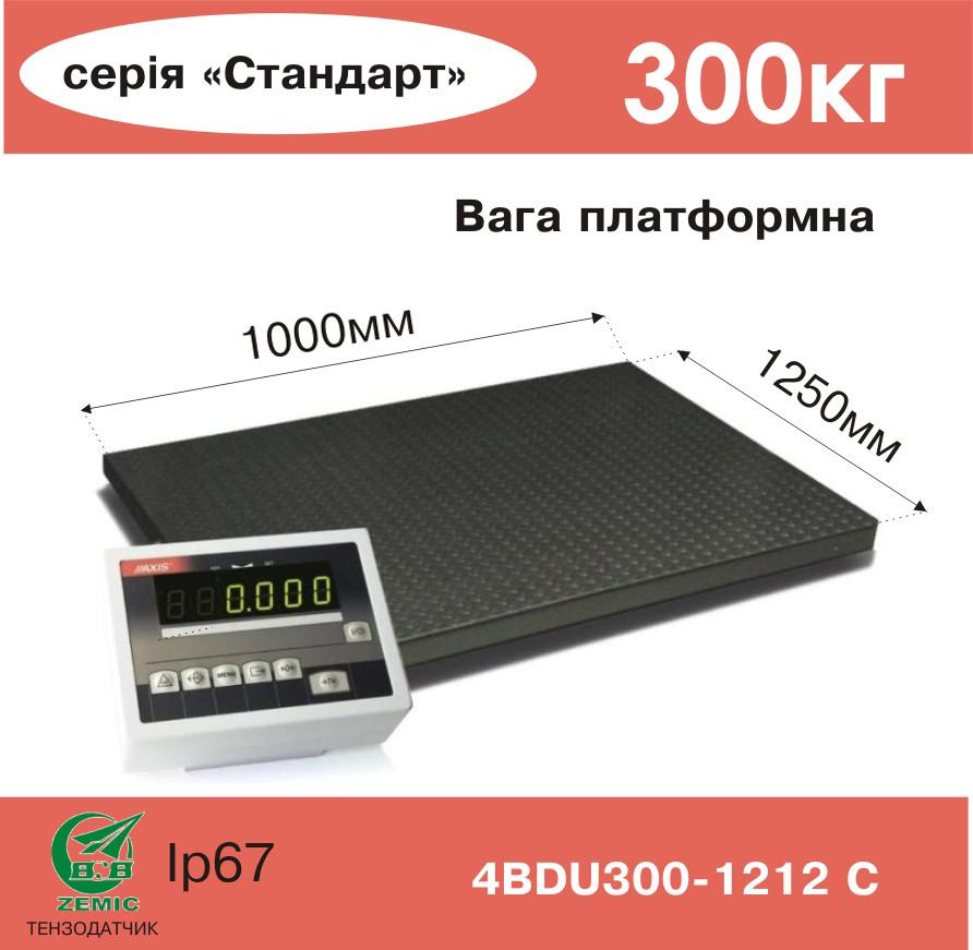 Весы платформенные электронные 4BDU300-1012-С - Компания УкрВесы [Ukrvesi] в Днепре