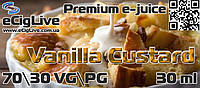 Vanilla Custard. 30 мл. Премиум жидкость для электронных сигарет.