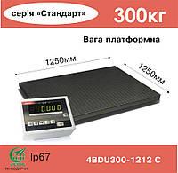 Весы платформенные электронные 4BDU300-1212-С