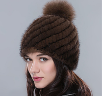 Норковая шапка. Шапка из норки