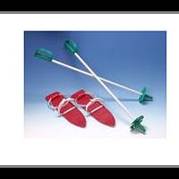 Лыжи ИМП пластик 40 см комплект