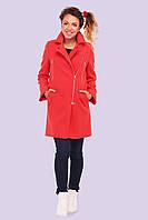 Трендовое молодёжное пальто 42-48 размер, фото 1