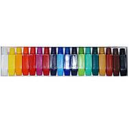Акриловые краски набор 18 цветов 6мл, YRE, YDH
