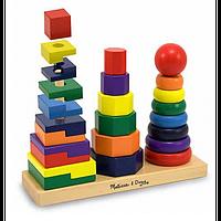 Геометрическая пирамидка Melissa Doug MD567