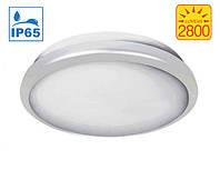Герметичный настенно-потолочный светильник Bioledex WADO LED Ø30см 2800Лм белый