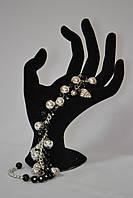 Подарок для женщин -браслет  из акриловых бусин