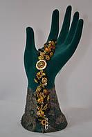 Браслет из натурального камня -Самоцветы- подарок женщине