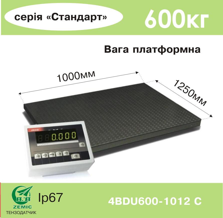 Весы платформенные 4BDU600-1012-С Стандарт - Компания УкрВесы [Ukrvesi] в Днепре