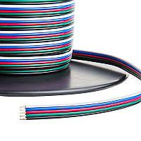 Dilux - Кабель плоский 5х0,35мм2 для RGBW светодиодной ленты SMD5050, SMD3528